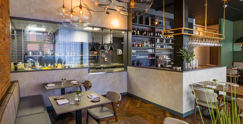 Bespoke Bar Counter - Folium Restauran Birmingham