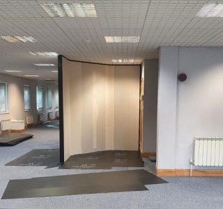 Head Office Refurbishment Partition