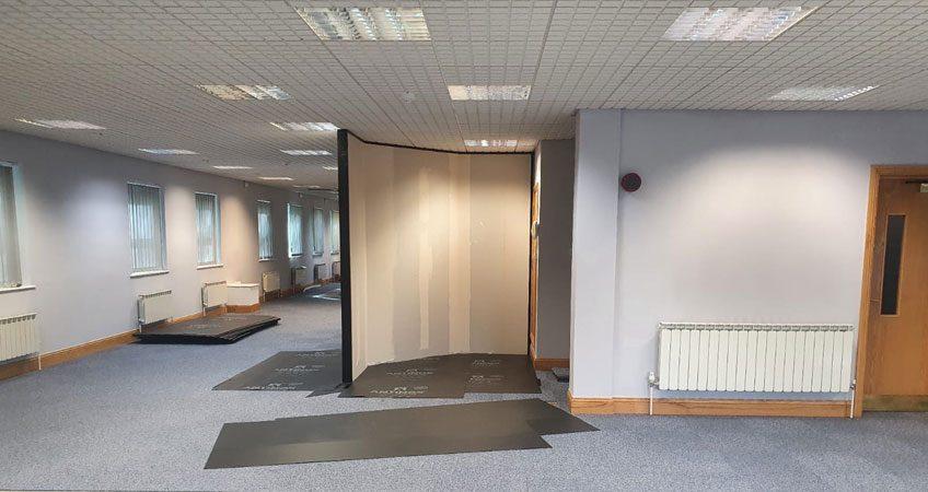 Head Office Refurbishment Partition