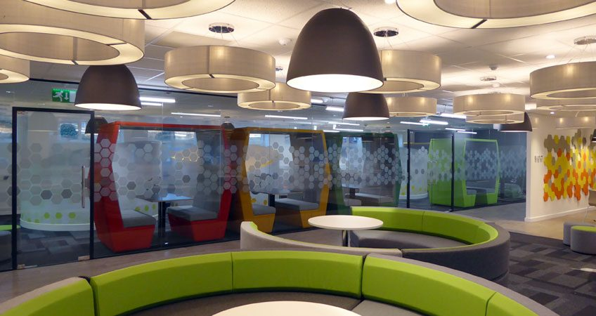 Leyland House Common Room Fit Out