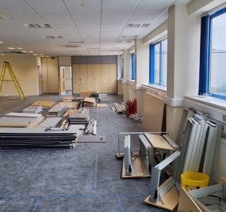 Manufacturing Headquarters Refurbishment Birmingham