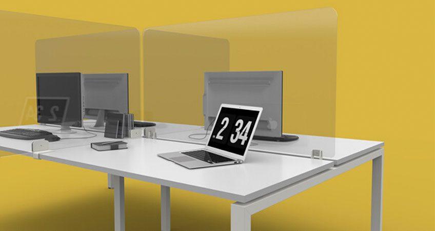 Protective Desk Screens: COVID 19
