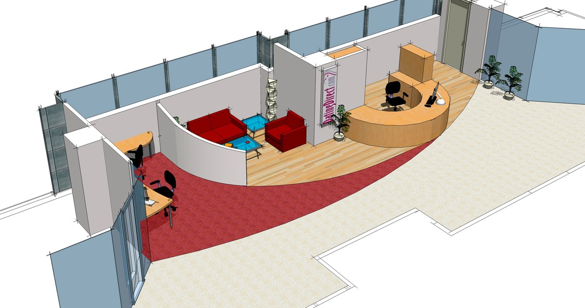 Dating Direct - Office Refurbishment