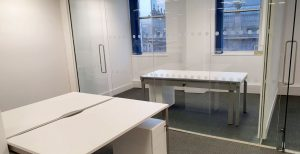 Glass Partition Office Wall Birmingham - Erwin Technologies