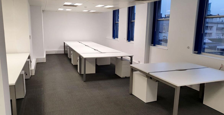 Glass Partition Office Refurbishment Birmingham - Erwin Technologies