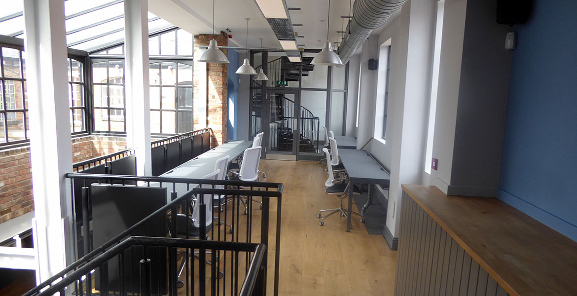 Commercial Refurbishment - Head Office Caters News Agency