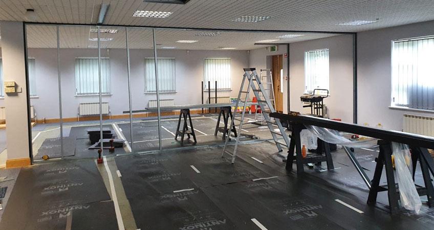 Head Office Refurbishment Glass Partition Walls