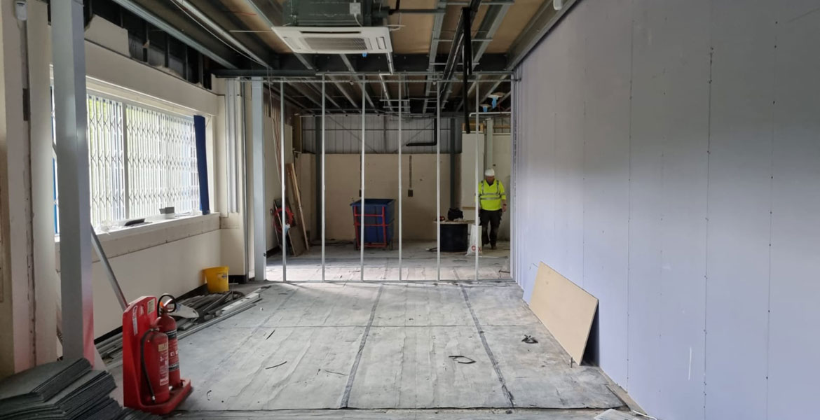 Manufacturing Headquarters Fit Out - Project