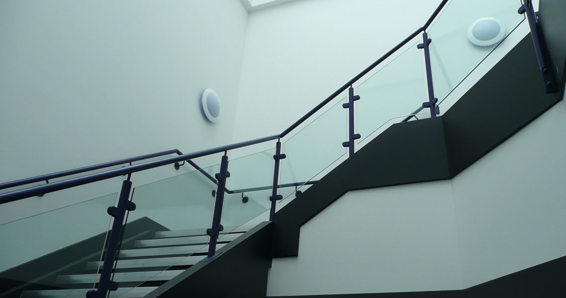 Metro Court - Staircase