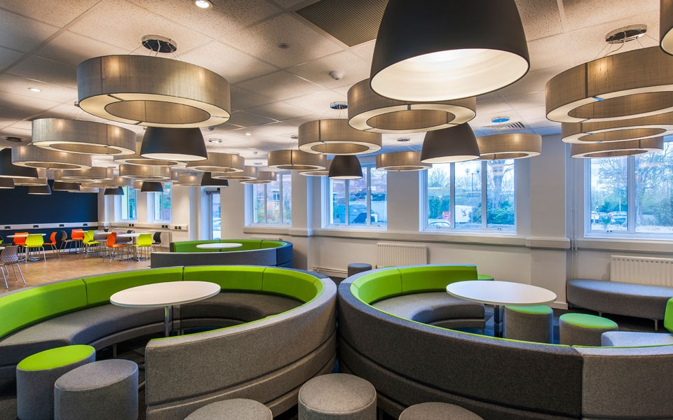 University Fit Out - The Den - Student Common Room