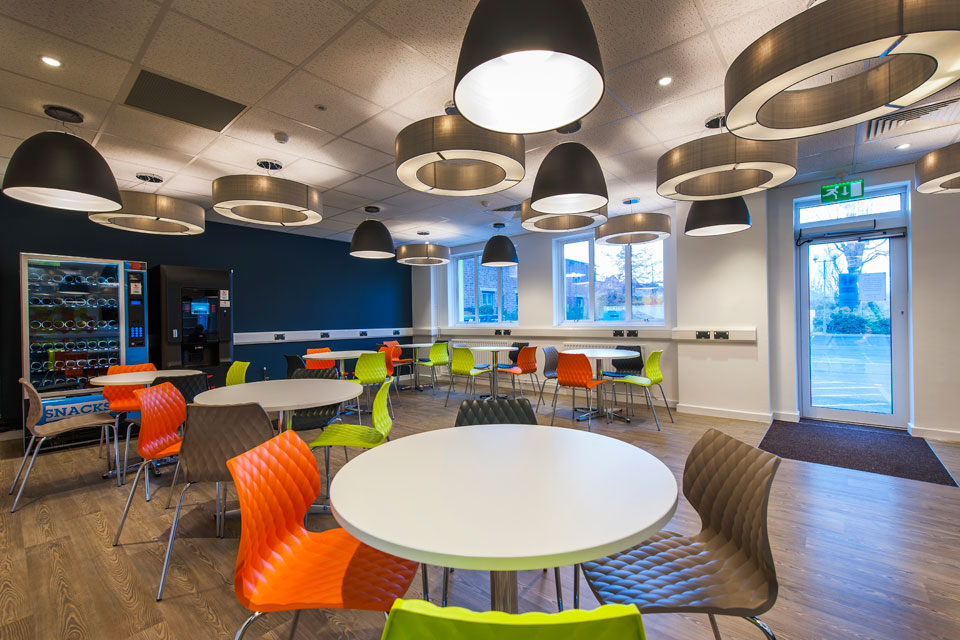 The Den Birmingham City University Office Refurbishment