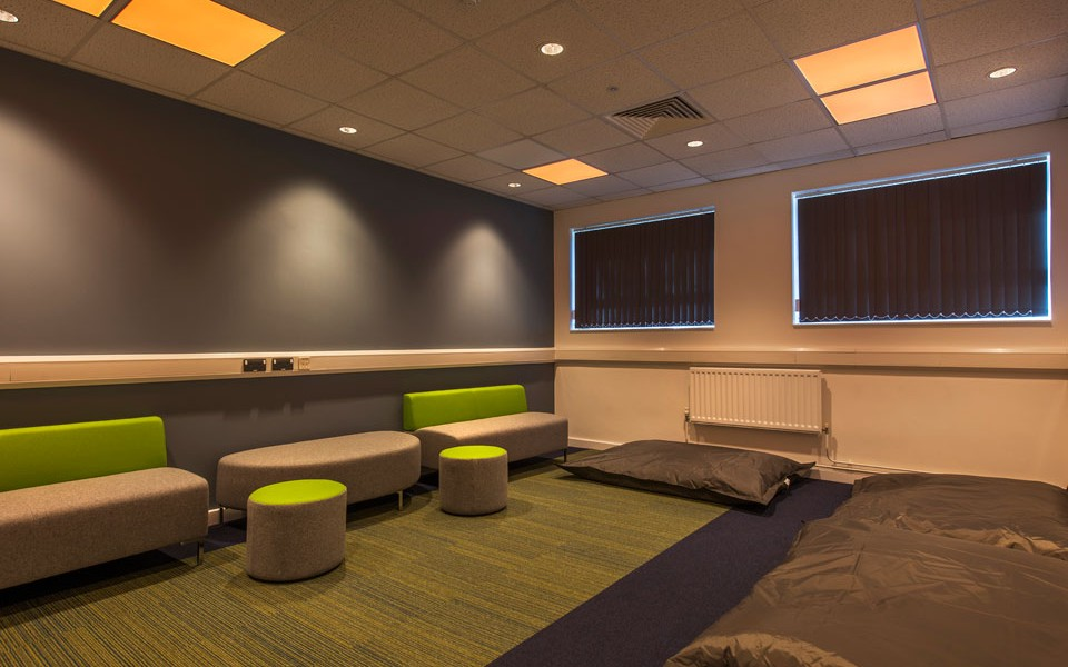 University Fit Out - The Den - Exercise Room