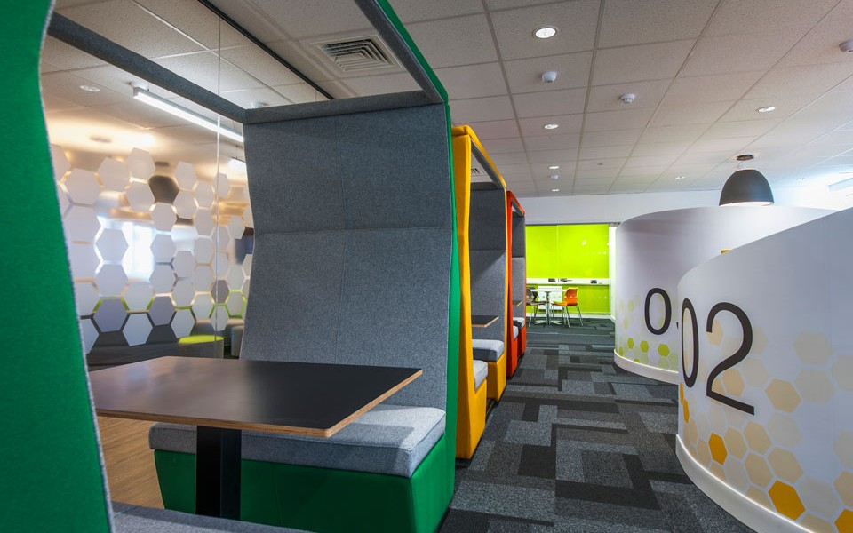University Fit Out - The Den - Study Pods